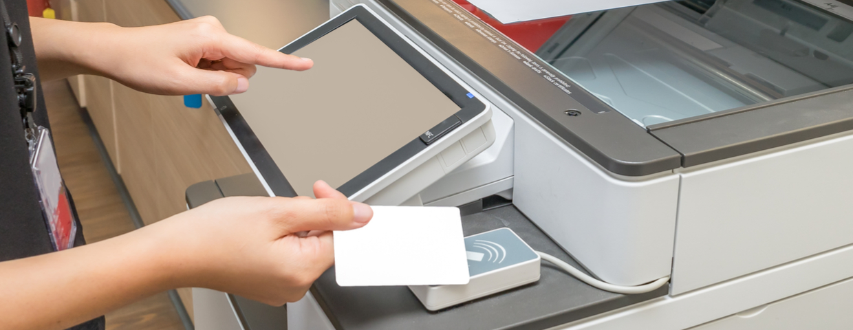 security card scan multifunction printer